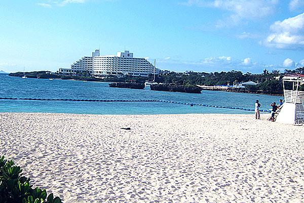 コテージ宙から近くのビーチ