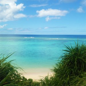 恩納村の天然ビーチが近いコテージ宙