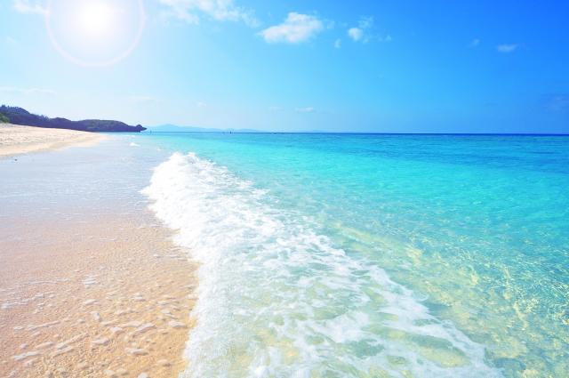 沖縄コテージ周辺ビーチ